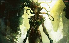 POSTER MAGIC THE GATHERING L'GATHERING MTG CARDS CARDS FANTASY VRASKA THE UNSEEN