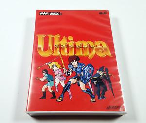 Ultima III Exodus 1988 Pony Canyon Origin MSX MSX2 CIB Boxed VGC Lord British
