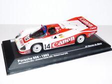 24H26M voiture 1/43 IXO Altaya 24 Heures MANS PORSCHE 956 1983 Canon #14 Lammers