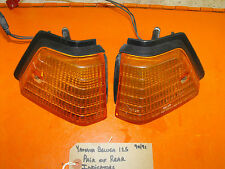 Yamaha Beluga 125 1990/91 Rear Turn Indicators, Pair (Trafficators/Signals)