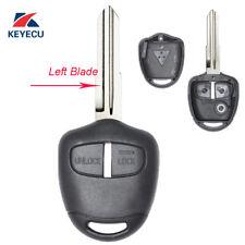 Remote Key Shell Case Fob 2 Button for Mitsubishi Pajero Triton Lancer Evo MIT8