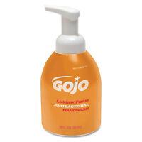 Gojo Luxury Foam Antibacterial Handwash Orange Blossom 18oz Pump 4/Carton 576204
