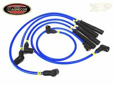 Magnecor 8mm Blu ACCENSIONE HT piombo Set Ford Escort Mk4 RS Turbo 1986-1990