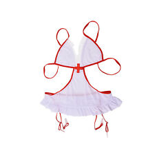Women Nurse Doctor Uniform Costume Lingerie Halloween Cosplay Fancy Dress MWUK