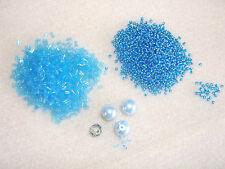 Simple débutant Beading Kit-Diamond Zigzag Chaîne-DIAMOND Zigzag Chaîne-Aqua