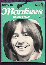 Original MONKEES MONTHLY Magazine No. 9 October 1967
