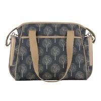 Roma Classic Changing Bag, Designer Messenger Nappy Nursery Pram Accessory Maple
