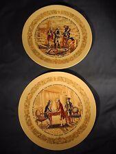 D'Arceau Limoges, Lafayette Legacy Collector, Porcelain Plates, 2 Plates no dam.