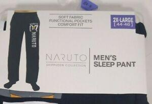 Men's Naruto Sleep Pants 2XL 44-46 NEW Lounge