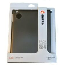 Griffin, Outfit Hard-Shell Case, Apple iPad iPad 2, Back Protection, Dark Gray