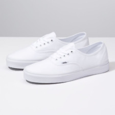 NEW IN THE BOX VANS CLASSIC AUTHENTIC TRUE WHITE VN000EE3W00 FOR MEN