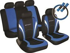 Ford Focus SPORTS PACK Fabric Car Seat Covers & extras in BLUE