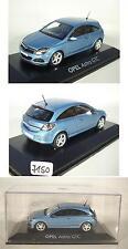 Minichamps 1/43 OPEL ASTRA GTC Blu-Metallico In PC-Box #7150
