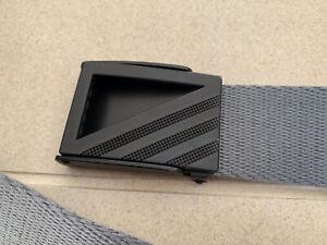 """Adidas golf webbing belt grey 36""""W"""