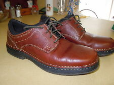 """ COMFORT FOOT WEAR "" STREET-CATS BROWN LEATHER LACE-UP SHOES - ARCH SUPPORT 12M"