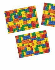 Ladrillo Lego 25 Mini Rompecabezas. Childrens boda favores, premios, recompensas