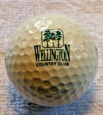 Wellington Country Club, Vintage Wilson Tc2 Logo Golf Ball, now National,Private