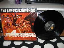 "The Bollock Brothers ""The 4 Horsemen of the Apocalypse"" LP Vinyl Record BOLL 103"