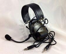 TRI C3 Headset Dual Comm CB Triumph Instrument Radio PRC 152 Military Airsoft