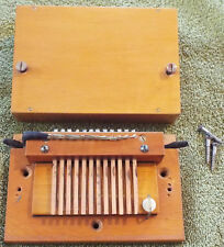 12 Note Pipe Organ Electro-pneumatic Offset Windchest Relay Switch ca. 1950