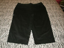Unbranded ladies black capris size 18 W
