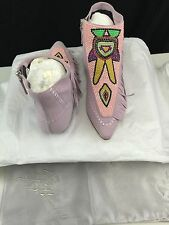 Giuseppe Zanotti Pointed Toe Ankle High Boots E47028 Size 38.5 US 8.5