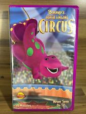 BARNEY'S SUPER SINGING CIRCUS 2040 VHS