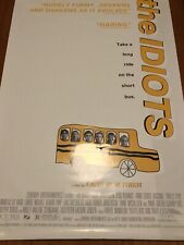 🚌 THE IDIOTS Lars von Trier RARE original movie poster Dogma95 Cult Film 27x40""