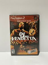 Def Jam Vendetta (Sony PlayStation 2, 2003) Black Label Complete PS2 TESTED