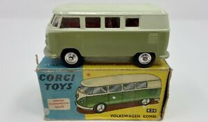 Corgi Toys No. 434 Volkswagen Kombi in Original Box