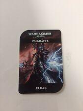 Warhammer 40k Craftworlds Eldar Psikräfte Armeebuch Codex Kampagne DE