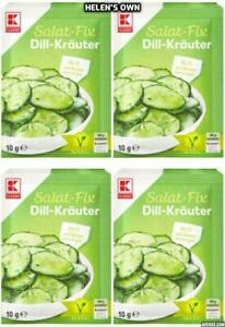 DILL Salad Herb Dressing MIX from Germany 20x 10g sachets by K-CLASSIC Vegan!
