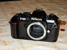 Fotocamera NIKON F 301 solo corpo
