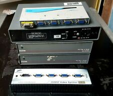 JOB LOT OF EXTRON & OTHER VGA DISTRIBUTION UNITS FOR TV/VIDEO//AV
