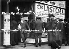 Detroit Prohibition/Bootleg/Gangster Era Last Call Alcohol Liquor Store Photo
