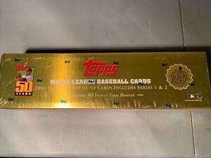 2001 Topps Baseball Complete Set Factory Gold Sealed Ichiro Suzuki RC PSA Ready