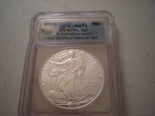 US MS70 2006 American Silver Eagle First Strike