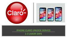 PREMIUM IPHONE CLARO UNLOCK SERVICE - ALL MODELS SUPPORTED 1-3 LABOR DAYS