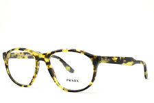PRADA Journal 12S UBL NEW AUTHENTIC TORTOISE RX EYEGLASSES 54-18-145