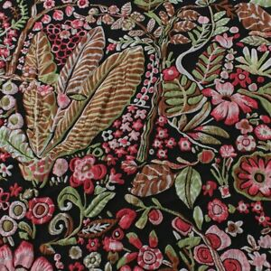 Beautiful Floral Brocade Fabric Jacquard Women Garments Thick Fabric By Yard