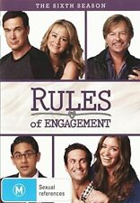 RULES OF ENGAGEMENT - SEASON 6 (English cover)  DVD - UK Compatible - sealed