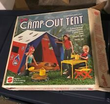 Vintage Barbie tent in box
