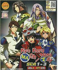 DVD Kyo Kara Maoh! Season 1 - 3 (Vol. 1 - 122 End) Complete Box