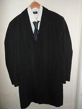 "STUNNING* 44R HUGO BOSS Mens Wool Overcoat Coat Jacket LARGE 44"" Regular - NEON"