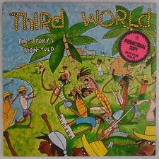 THIRD WORLD: The Storys Been Told ISLAND Reggae Disco Vinyl LP Promo