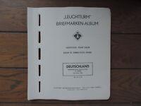 Leuchtturm SF Vordruck - BRD 1961-1971 mit postfrischen ** Marken komplett