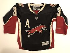 KEITH YANDLE Phoenix Arizona Coyotes Reebok Alternate Jersey Stitched Youth S/M