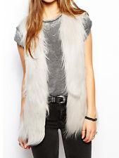 Unreal Fur Play Vest Waistcoat Jacket Grey New M L