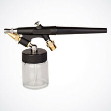 New Starter Single Action Siphon Feed Airbrush Gun Set Hose Bottle Spray Tool