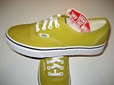 ffcd912ec6 Vans Authentic Mens Cress Green True White Canvas Skate Shoes VN0A38EMU61  NWT